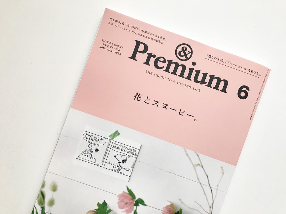 雑誌『&Premium』