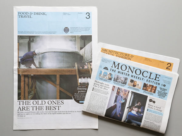 MONOCLE – The Winter Weekly Edition 4 / Section 3: Food & drink, travel